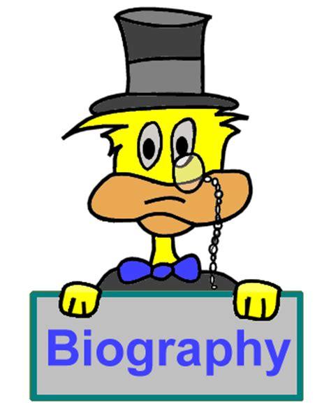 Student written biographies